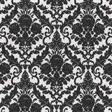 Vliesové tapety na zeď Hypnose zámecký vzor černý