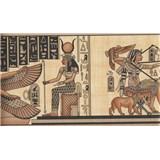 Bordura papírová - Egypt - 5 m x 17,7 cm