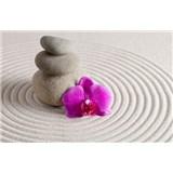 Vliesové fototapety wellness orchidej