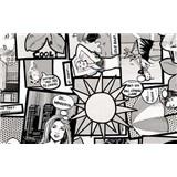 Samolepící tapety - kreslený komiks 67,5 cm x 15 m
