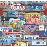 Papírové tapety na zeď It's Me automobilové značky
