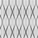 Tapety na zeď Jewel - hra linií - šedočerná