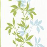 Tapety Lacantara 3 - stonky listů zelené se třpytem
