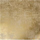 Vliesové tapety na zeď La Veneziana zlatá s metalickým efektem