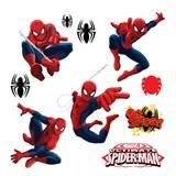 Samolepky na zeď dětské - Spiderman 30 x 40 cm