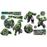 Samolepky na zeď dětské - The Hulk 30 x 40 cm