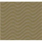 Vliesové tapety na zeď Opulence moderní vlnovky hnědo-šedé