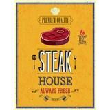 Retro cedule Steak House 40 x 30 cm