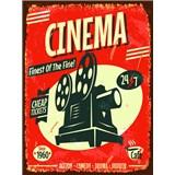 Retro cedule Cinema 40 x 30 cm