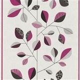 Vliesové tapety na zeď Trend Edition listy růžové