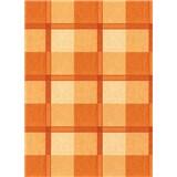 Ubrus návin 20 m x 140 cm kostky káro oranžové
